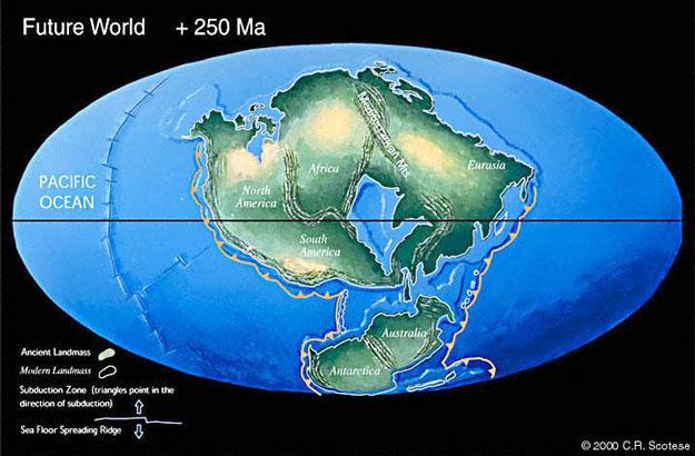 Pangea Última: ¿La Tierra en 250 Millones de Años?