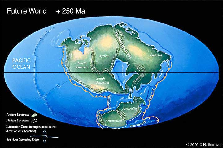 the shifting of pangea Here is the entire file on the pangea subject  the seasonal distribution of ice and snow, shifting in a distillation process from one hemisphere to the other,.
