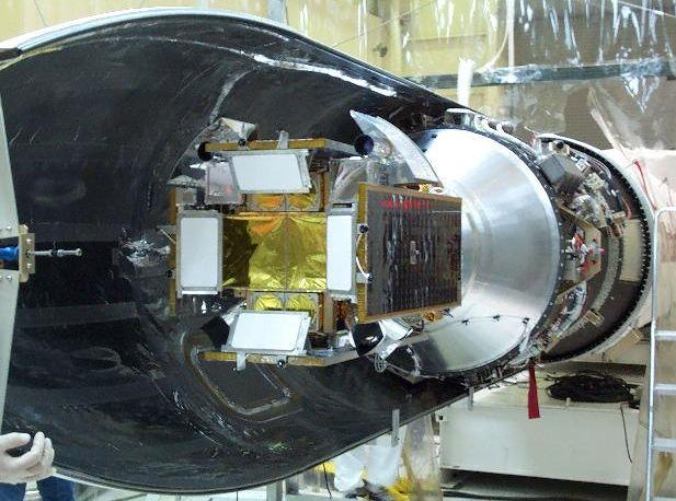 HETE-2 montado sobre Pegasus