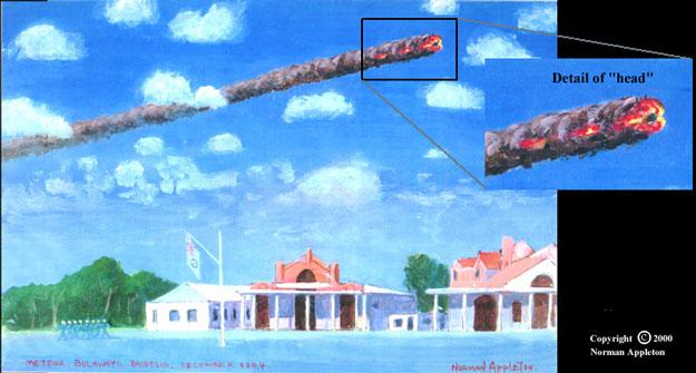 Una Bola de Fuego a la Luz del Día en 1944
