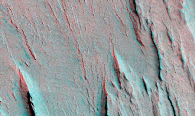 Los Yardangs de Marte