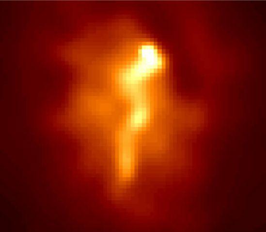 Abell 1795: el flujo de refrigeración de un cúmulo de galaxias
