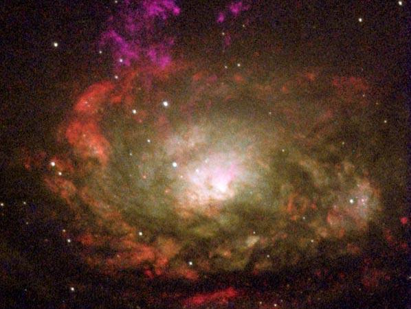 La Galaxia Circinus (El Compás)