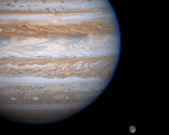 Júpiter mira a Ganimedes