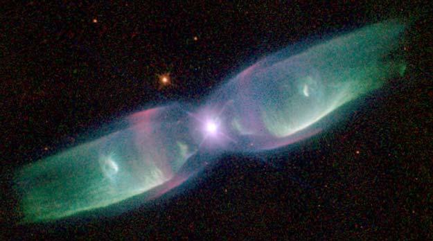 M2-9: las alas de la Nebulosa de la Mariposa