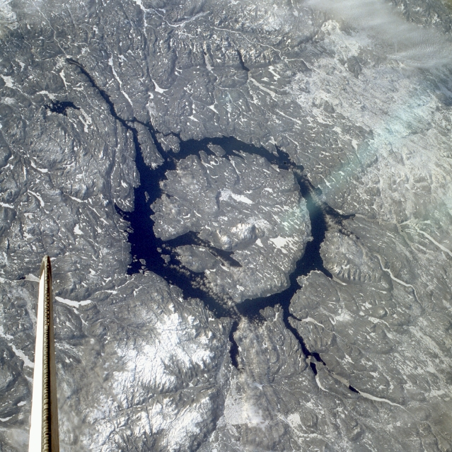 impact craters nasa - photo #1