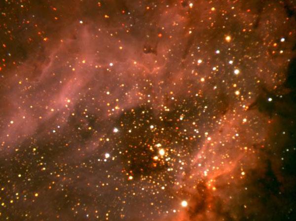 Componiendo la Nebulosa Omega