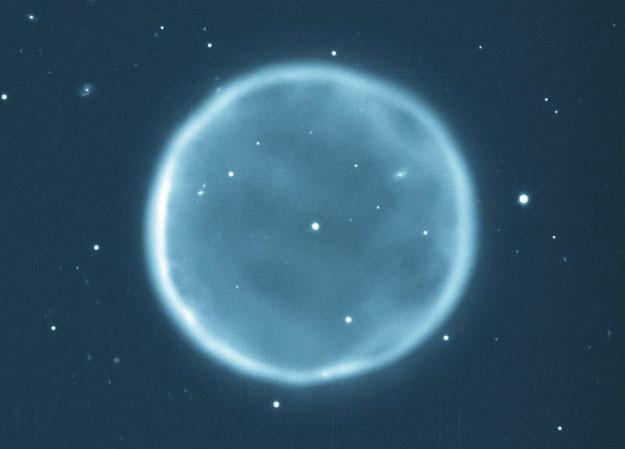 La nebulosa planetaria esférica Abell 39