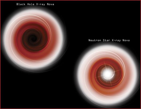 Černé díry jsou černé
