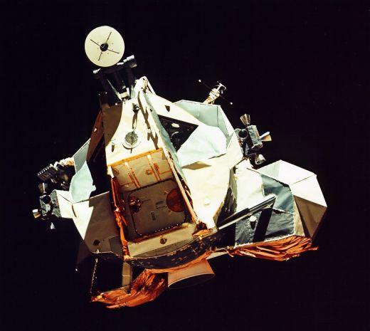 La Nave Lunar de la Apolo 17