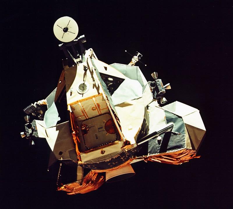 APOD: 2001 January 6 - Apollo 17's Moonship