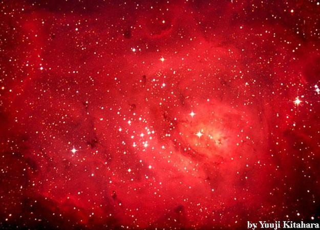 M8: en el centro de la Nebulosa de la Laguna