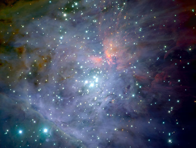 La Nebulosa de Orión por el VLT