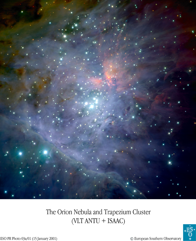 The Great Nebula in Orion.