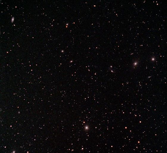 Galaxias del Cúmulo de Virgo