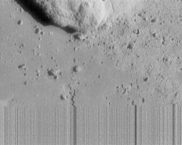 La nave espacial NEAR sobrevive al aterrizaje sobre el asteroide Eros