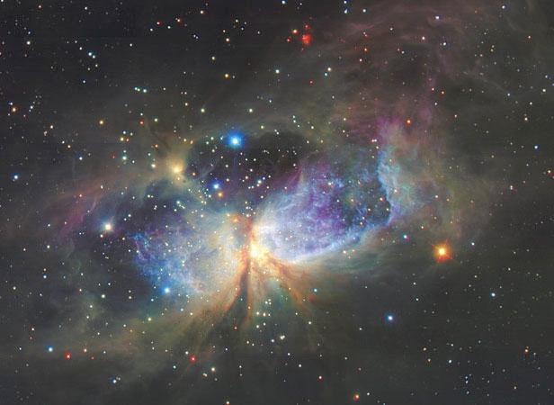 La región de formación de estrellas S106
