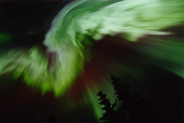 Aurora al estilo de Alaska