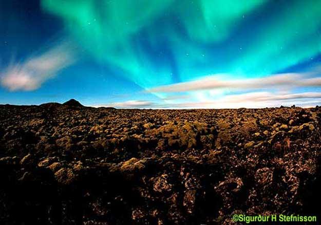 Aurora sobre Nubes