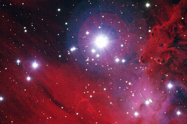 NGC 2264: Estrellas, Polvo y Gas