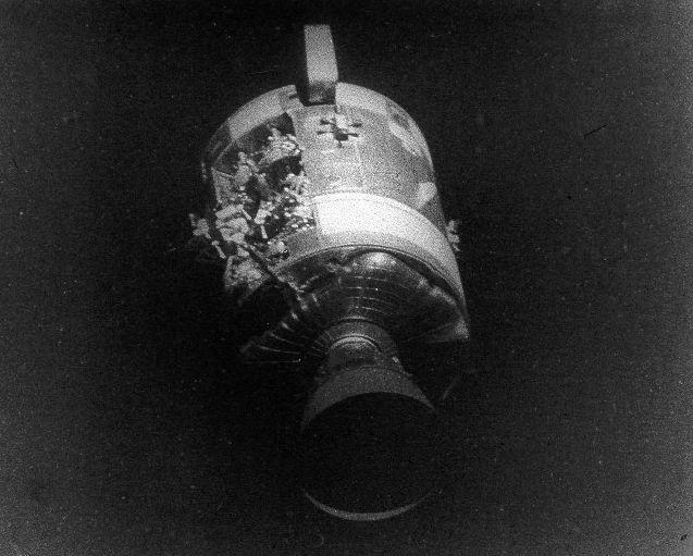 Daños en el Apolo 13