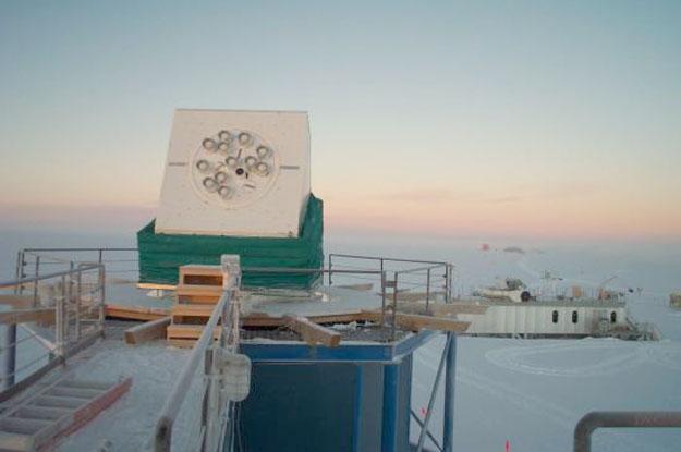 La Antártida detecta pequeña cantidad de materia normal procedente del Big Bang