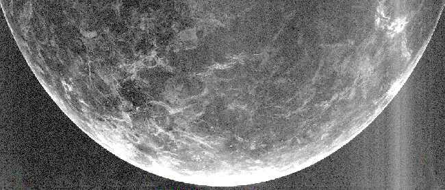 Una Imagen de Radar de Venus