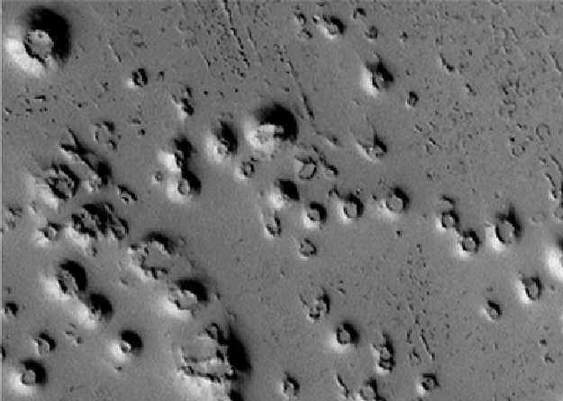 pictures of volcanoes on mars. Ice Volcanoes on Mars?
