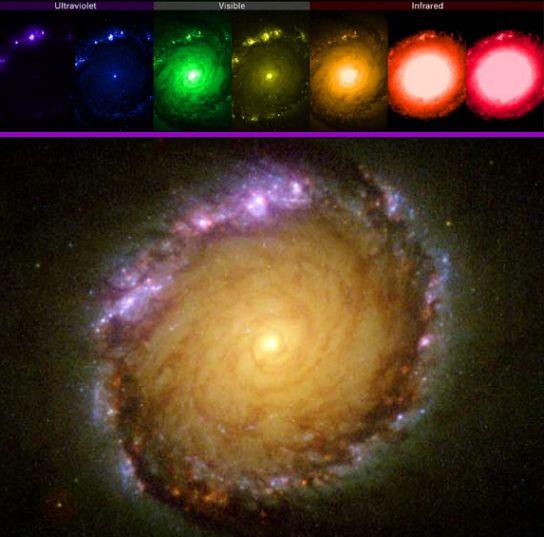 NGC 1512: Una Vista Pancromática