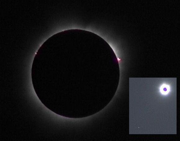 Eclipse en los cielos africanos