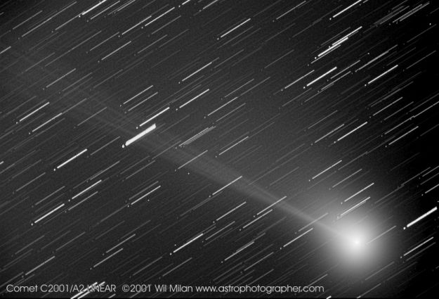 C/2001 A2 (LINEAR): ¡ Un Cometa !