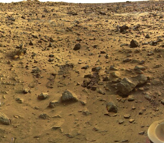APOD: 2001 July 21 - 25 Years Ago: Vikings on Mars