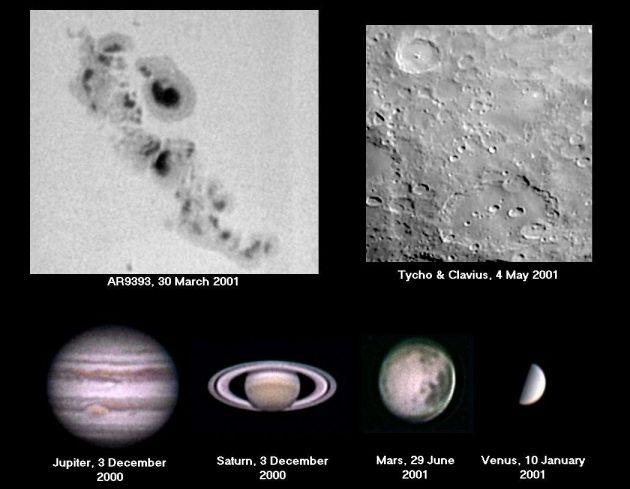 Web cam del Sistema Solar