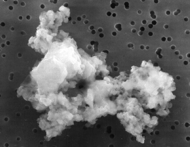 Una Partícula de Polvo Interplanetario