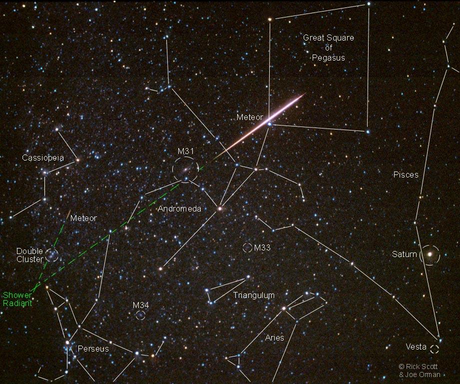 Bien-aimé Une étoile filante des Perséides - L'image d'astronomie du jour - APOD OH63