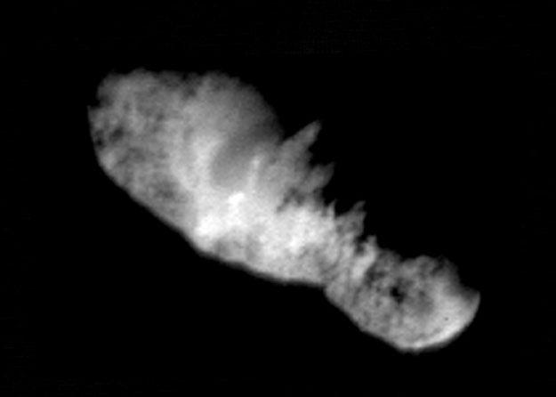 El núcleo del cometa Borrelly
