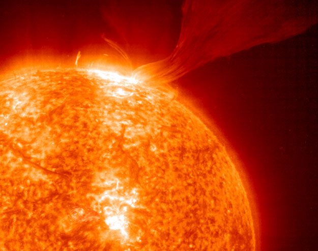 Una Protuberancia Solar