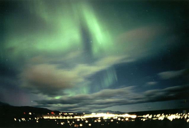 Aurora en Yukon