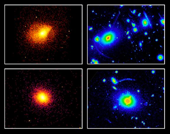 La materia de los cúmulos de galaxias