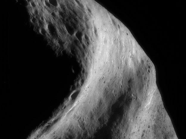 El pasado del asteroide Eros