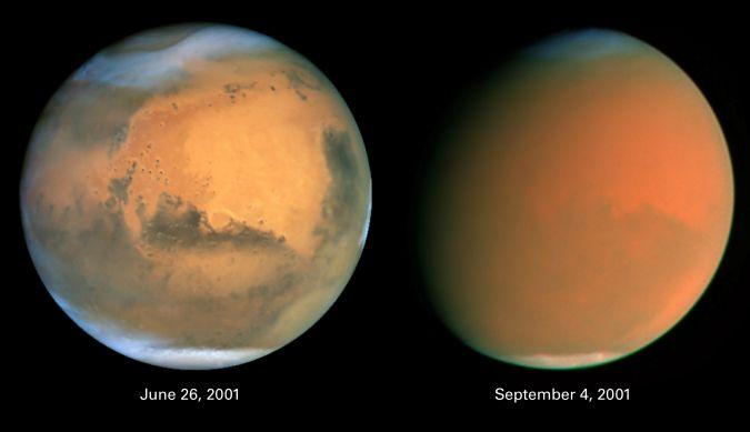 Mars Engulfed