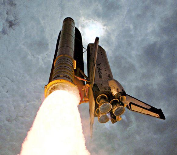 space shuttle columbia launch 1981 - photo #25