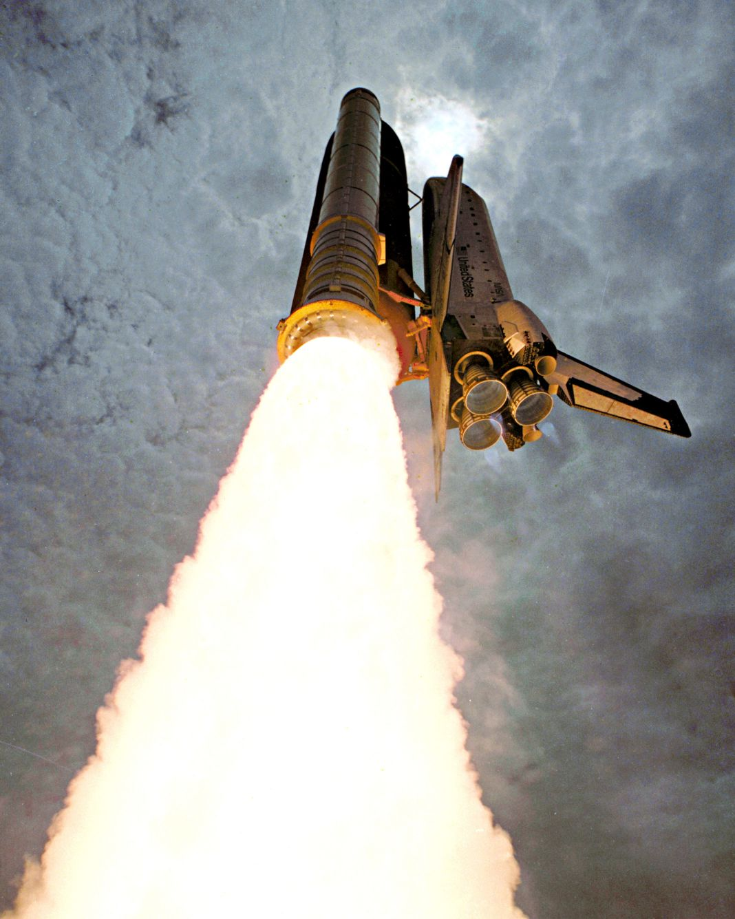 space shuttle columbia take off - photo #2