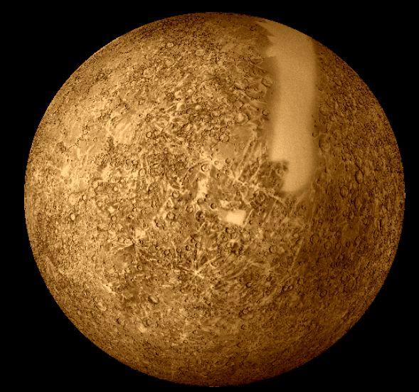 La sonda Mariner en Mercurio