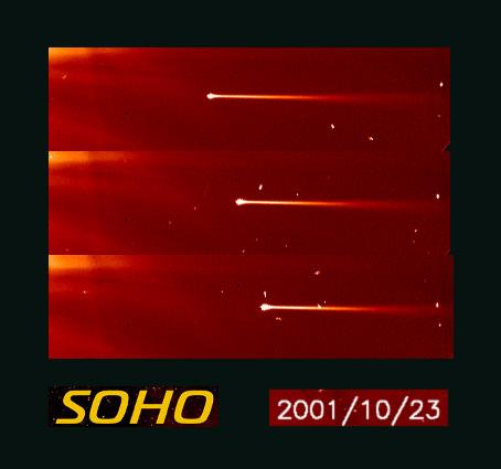 Cometa 367 SOHO: Rumbo al Sol