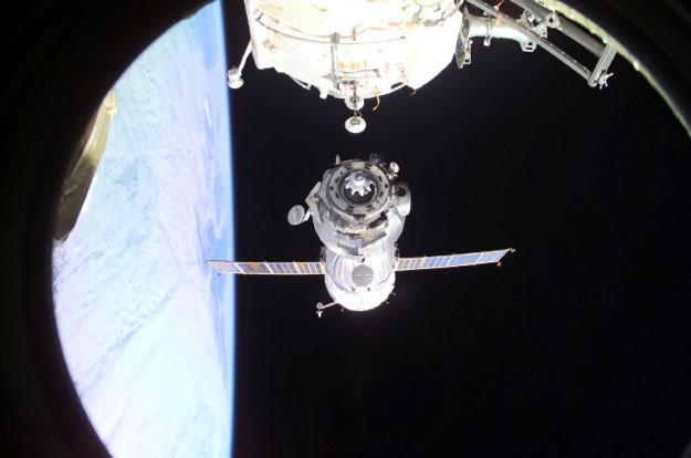 Abandonando la Estación Espacial Internacional