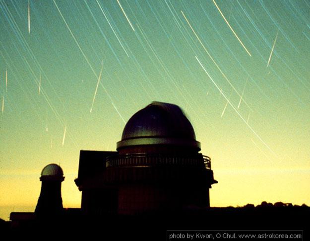 Leonidas sobre el Observatorio Coreano