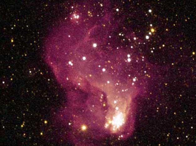 Hubble-V, Cunero de Estrellas.