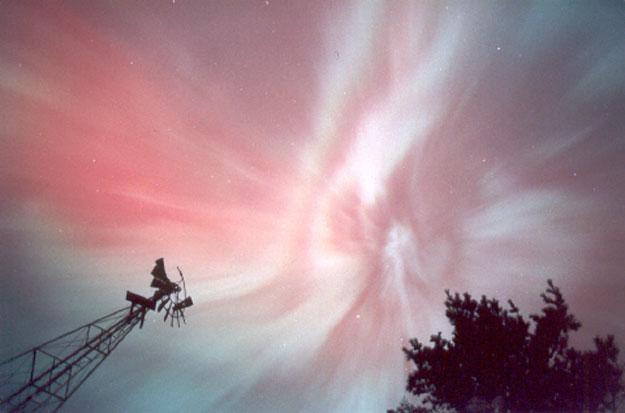 Corona de Aurora roja