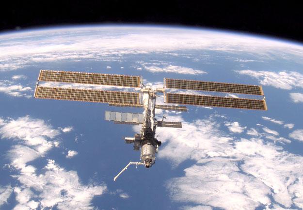 Estación Espacial Internacional sobre la Tierra